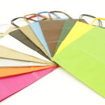 Papieren koorddraagtassen Gkr gekleurd