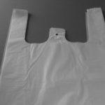 hdpe hemddraagtassen wit